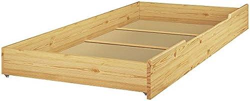 Erst-Holz tagenbett Kiefer Massivholz Stückbett 90x200 Hochbett Rollroste Bettkasten 60.10-09 S1