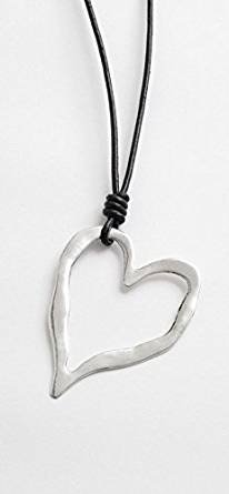 Ladies Large Heart Necklace