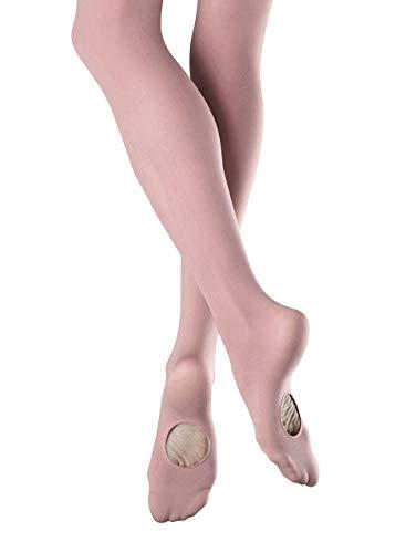 Bloch Dance Girls Endura Adaptatoe Tights,Pink, Child Small
