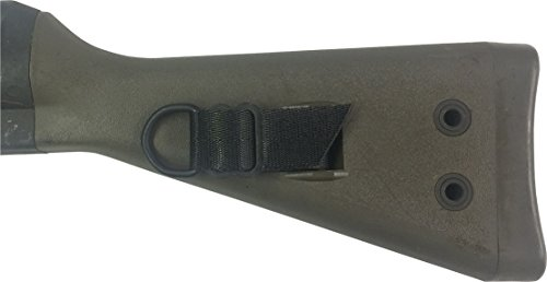 Fire Force Item 8379 HK91 Butt Stock Sling Attaching Kit Made in USA (Black)