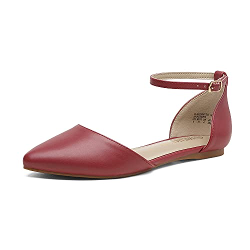 Top 10 best selling list for red flat pump shoes