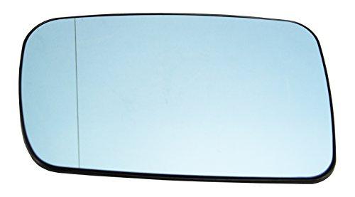 TarosTrade 57-0350-L-50643 Spiegelglas Heizbar Blaues Links
