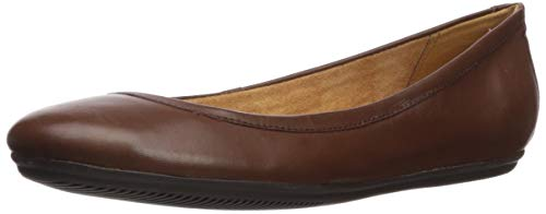 Price comparison product image Naturalizer Women's Brittany Ballet Flat,  Coffeebean,  9 W US