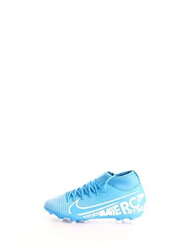 Nike Jr. Mercurial Superfly 7 Club MG, Scarpe da Calcio Unisex-Bambini, Multicolore (Blue Hero/White/Obsidian 414), 33 EU