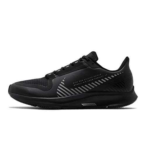 Nike Men's Running Shoes, Black Black Black MTLC Silver 001, US:5