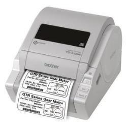 Brother TD4100N - Impresora de Etiquetas y Tickets para Uso Comercial e Industrial con Tarjeta de Red