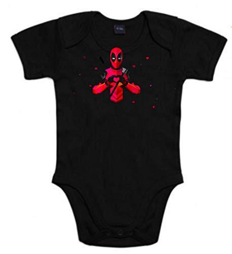 Body de NIÑOS Deadpool heroe 3Meses