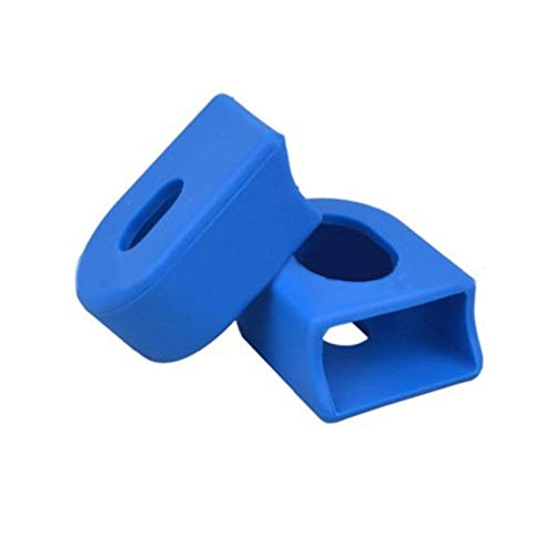 LINASHI Chain Ring Protective Cover, 1Pair Sleeve Cranksets Bicycle Bike MTB Arm Boots Chain Ring Protective Cover Blue One Size