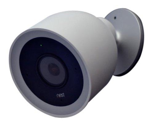 Nest NC4100EX Cámara de Seguridad para Exteriores, Blanco