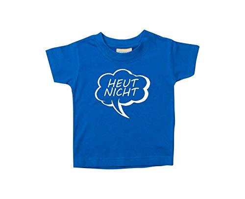 Enfants Tee-Shirt Bulle Heut Pas - Royal, 18-24 Monate