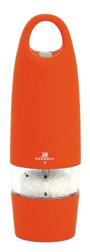Peugeot 22068 Zest Moulin à sel Orange toucher soft 18 cm