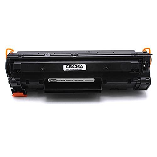 XIGU Cartucho de tóner compatible HP CB436A para impresora HP Laserjet P1503 M1120 M1522n, impresión suave, resistente a la decoloración sin fugas