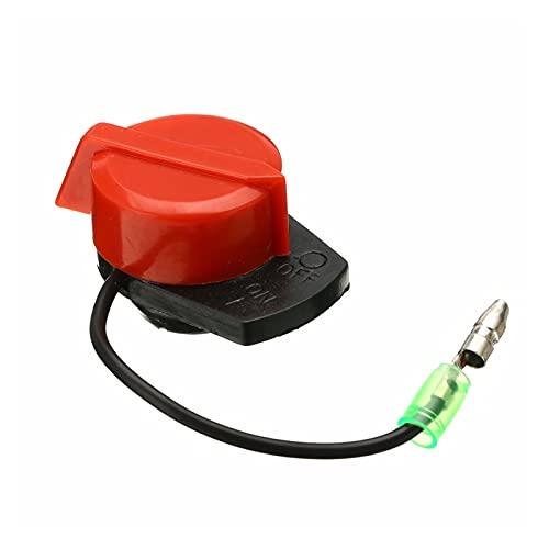 XIAOFANG Prácticos interruptores de plástico Motor de Parada de Potencia en el Interruptor Off para GX110 GX240 GX270 GX340 GX390 Mayitrigo