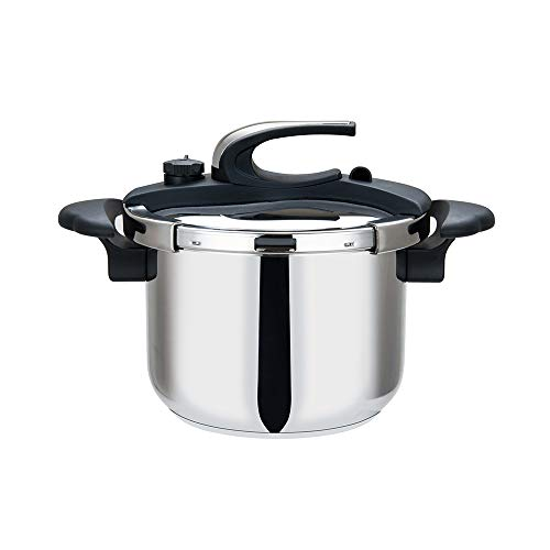 Aramco Stainless Steel Stovetop Pressure Cooker High Speed Cooking, 8 Quart,HBM101