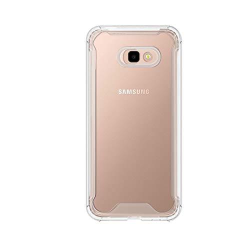 TBOC Funda para Samsung Galaxy J4+ - J4 Plus [6.0'] Carcasa [Transparente] Protección Extrema a Caídas [Antigolpes] Bumper [Bordes Reforzados] Resistente [Protege la Cámara] Móvil