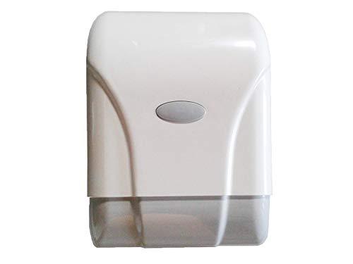 Dispensador de papel mecha pared ABS Blanco