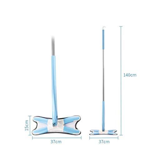 Why Choose QYLSH X-Type Anti Fingertight -360 ° Rotating Flexible Flat Mop Cleaning Head Microfiber...