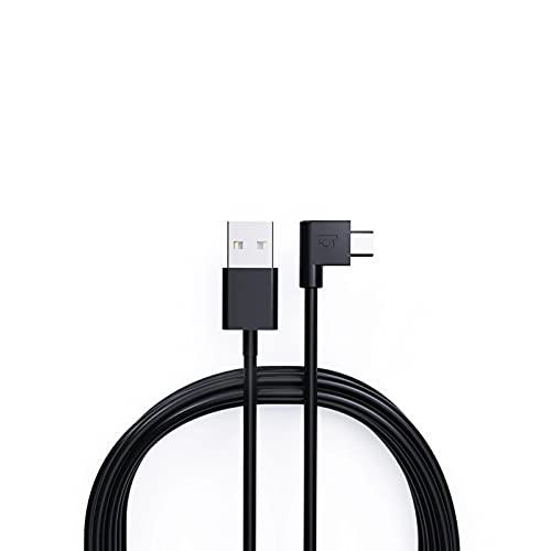 Macho micro de ángulo recto de 90 grados al cable masculino de la carga de datos del USB para la tableta del teléfono