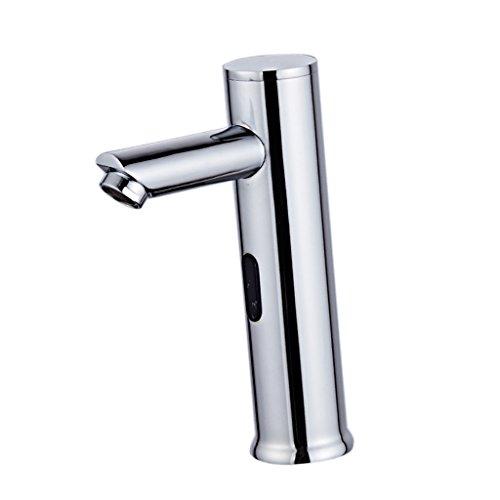 FLAMEER Automatischer Sensor Wasserhahn Infrarot Armatur Waschtischarmatur für Bad Waschbecken