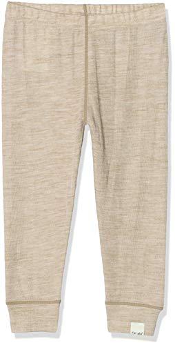 CeLaVi Leggings/Hose in Weicher Wolle Pantalon, Beige (Simply Taupe Mélange 256), 68/74 (Taille Fabricant: 70) Mixte bébé