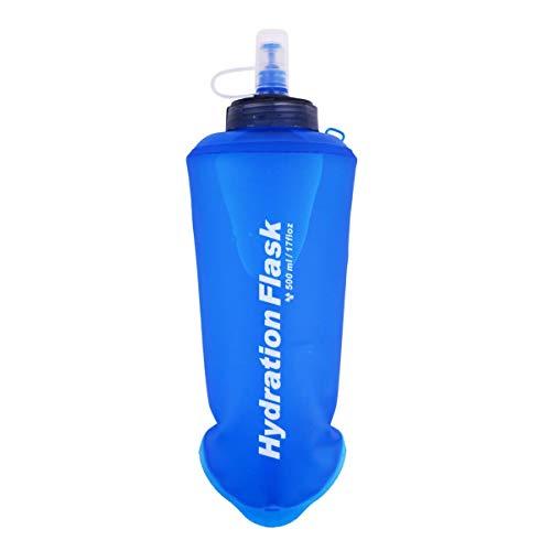 Botella De Agua Deportiva, Botella De Agua Blanda, Botella De Agua De Mano, Botella De Agua De Mano Bolsa De Agua Blanda TPU, Botella De Agua Deportiva