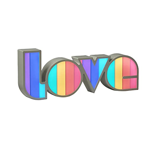 Letras de caja de luz LED con letras, letras de amor, decoración de letras inglesas, luz de noche adecuada para decorar bodas, despedidas de soltero, banquetes de boda, fiestas de cumpleaños, etc.
