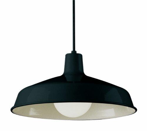 Bel Air Lighting 1100 BK 1-Light Pendant by Bel Air Lighting