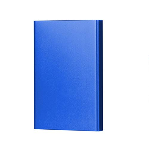 External Hard Drives, 2TB HDD 1TB 500GB External Hard Drive Disk USB3.0 HDD 320G 160G 80G Storage for PC, Mac,TV Include HDD (Color : Blue, Size : 750GB)