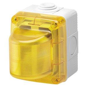 Gewiss GW27424 230V Gelb Alarmlichtindikator - Alarmlichtindikatoren (25 W)