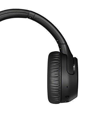 Sony WH-XB700 Bluetooth Headphones (Extra Bass, NFC, 30h Battery, Hands-Free Function, Google Assistant, Amazon Alexa) Black