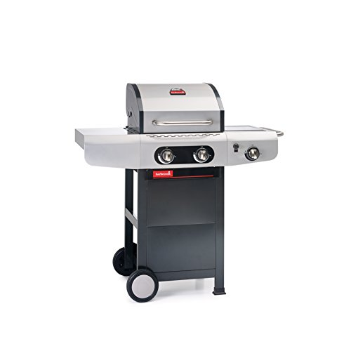 Barbecook Grill, Gasgrill Siesta 210, schwarz, 133 x 57 x 115 cm, 2239221000