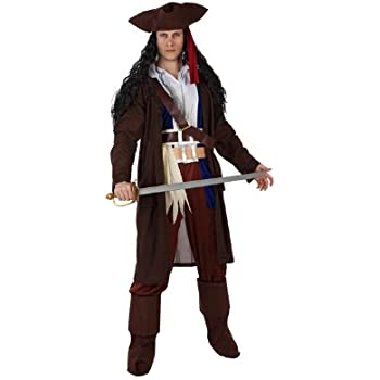 Atosa-97234 Disfraz Pirata, color marrón, XL (97234): Amazon.es ...