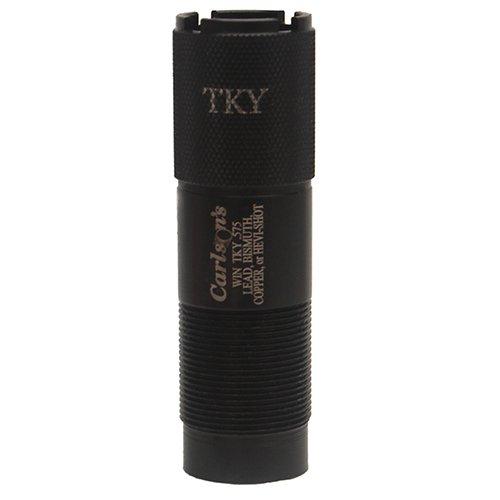 Carlson's Choke Tube Winchester-Browning Inv-Moss 500 20 Gauge Extended Turkey Choke Tube, Black