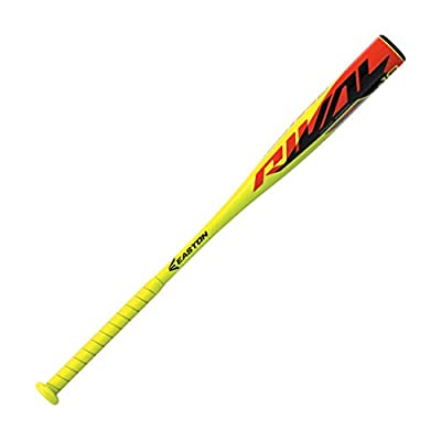Easton Rival -10 | 2 1/4 in Barrel | USA Youth Baseball Bat | 2020 | 1 Piece Aluminum | ALX50 Alloy | Speed Balanced Swing Weight | Cushioned Flex Grip for Comfort and Minimizes Vibration