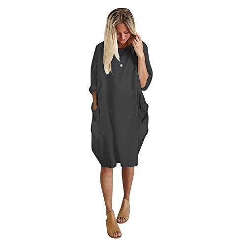 Vectry Vestidos Sexys Y Elegantes Vestidos Baratos Vestidos De Mujer Coctel Vestidos Mujer Casual Verano Vestidos De Mujer Verano Falda Gris Oscuro