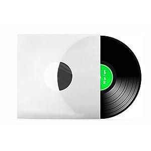 100 Stück | 12″ | Schallplatten | LP | Vinyl | Innenhüllen | gefüttert | antistatisch | weiß | 90 gr./qm | xi-media ®