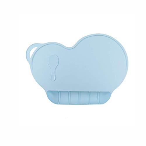ZXCHB Silicone napperon-Safe et Tasteless Chaise de Salle à Manger for Enfants Coussin antidérapante imperméable Out Pad Portable