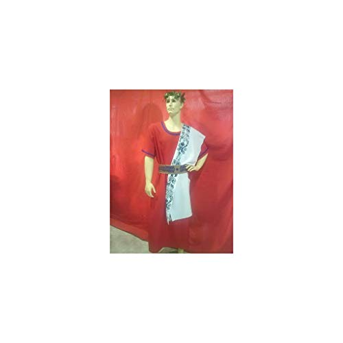 Disfraces FCR - Disfraz senador romano banda estampada talla única