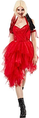 Disfraz Harley Quinn Sq2 Vestido Rojo Ad