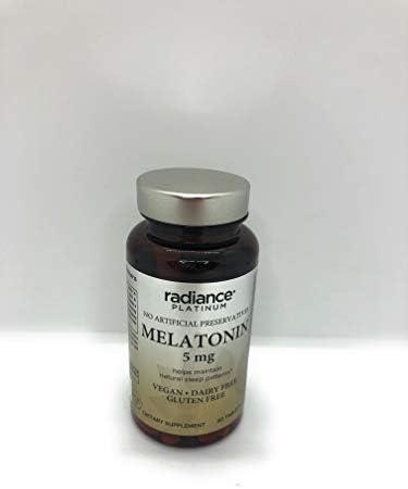radiance platinum melatonin 5mg product image