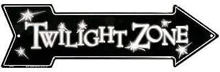 MMNGT The Twilight Zone Tin Sign TIN Sign Arrow TIN Sign