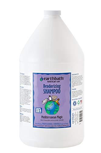 Earthbath Mediterranean Magic Totally Natural Pet Shampoo, 1-Gallon