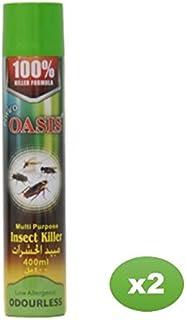 Enviro Oasis Multipurpose Insect Killer Spray 400 ml (Pack of 2)