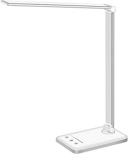 LED Desk Lamp Eye Caring Table Lamps Natural Light Protects Eyes 5 Modes 10 Brightness Levels product image