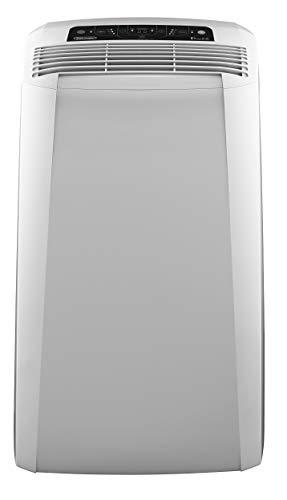 De'Longhi Pinguino PAC CN93 Eco - mobiles Klimagerät mit Abluftschlauch, Klimaanlage für Räume bis 90 m³, Luftentfeuchter, Ventilationsfunktion, 12h-Timer, 2,6 KW, 75 x 45 x 39,5 cm, weiß