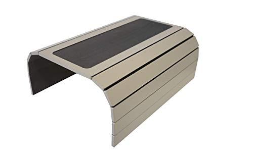 Sofa-Tablett mit EVA-Basis, beschwerte Seiten, passt über quadratische Armlehnen Fendy