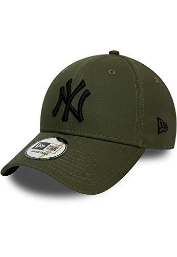 New Era League ESTL 9Forty Adjustable Cap NY Yankees Khaki Schwarz, Size:ONE Size