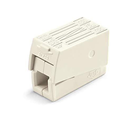 WAGO® Leuchtensklemme, weiß, 224-112 (100 Stück)