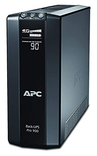 APC Power-Saving Back-UPS PRO - BR900G-FR - Onduleur 900VA (AVR, 6 Prises FR, USB, Logiciel d'arrêt)