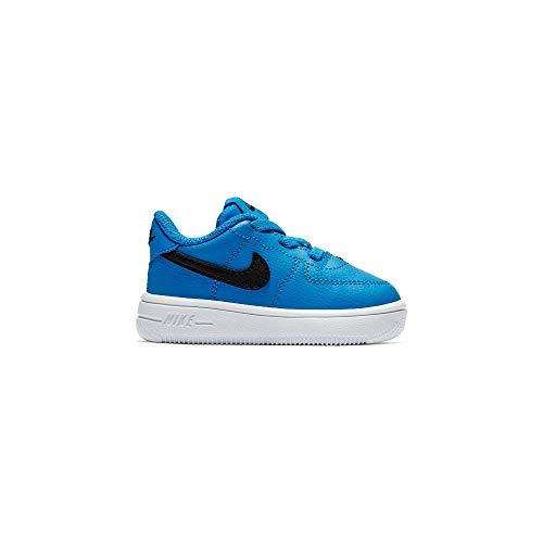 Nike Force 1 '18 (TD), Pantofole Unisex-Bimbi, Blu (Photo Blue/Black 402), 22 EU